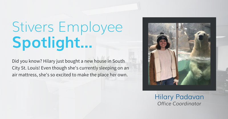 Stivers Employee Spotlight: Hilary Padavan
