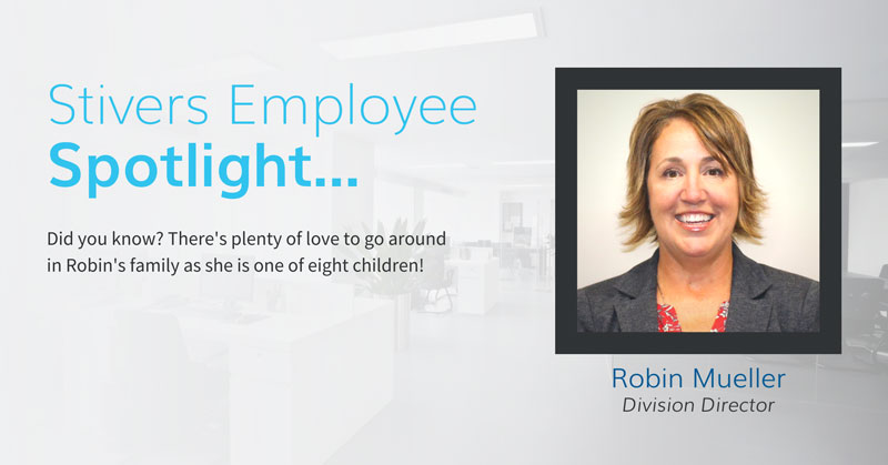 St. Louis Division Director Robin Mueller has been a part of the Stivers family for over 30 years.