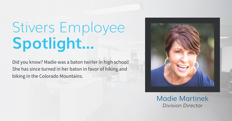 Madie is always working hard to match the right people with the right jobs while also fostering positive relationships with our clients.