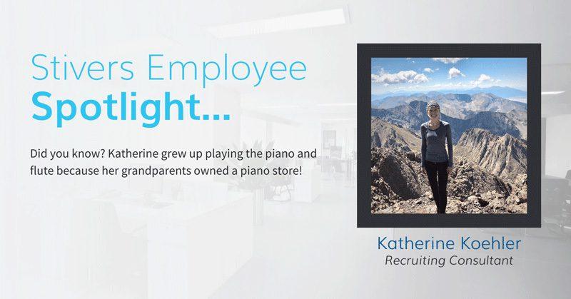 Stivers Employee Spotlight: Katherine Koehler