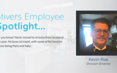 Stivers Employee Spotlight: Kevin Rae
