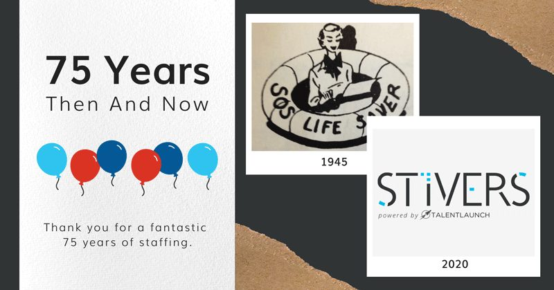 Stivers Celebrates 75 Years!  An Original Pioneer in Recruiting!